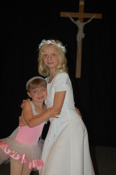 Olivia's Recital & Mikaela's 1st Communion May 06